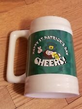 TB Toy Trading Co Happy St Saint Patrick's Day Beer Stein Patricks Ceramic