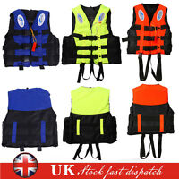 ADULT KAYAK SKI BUOYANCY SWIMMING LIFE JACKET AID SAILING WATERSPORT IMPACT VEST