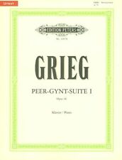 GRIEG - Peer Gynt Suite 1 Urtext Peters Edition Piano Book *NEW* Sheet Music