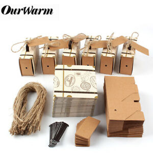 100x Mini Suitcase Candy Boxes Gift Box Travel Theme Wedding Anniversary Favours