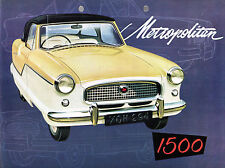 Austin Metropolitan 1500 Series IV 1960-61 UK Market Sales Brochure
