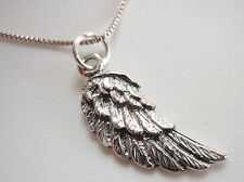 Winged Pendant 925 Sterling Silver Corona Sun Jewelry flight bird feather