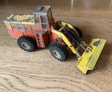 Vintage Dinky Toys YALE Tractor Shovel  Diecast Original Yellow & Orange Paint