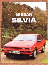 1987 NISSAN SILVIA TURBO ZX Sales Brochure - Mint Unread Brand New Old Stock!!
