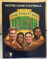 Notre Dame Fighting Irish 1994 Football Media Guide: RYAN LEAHY:JUSTIN GOHEEN