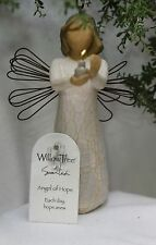 NEW~ ANGEL of HOPE ornament candle light flame wings shower gift box WILLOW TREE