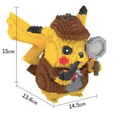 **NEW** DETECTIVE PIKACHU MINI BUILDING BLOCK (Diamond Blocks/Kids Toys)