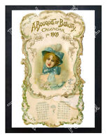 Historic Bouquet of Beauty magazine 1905 Advertising Postcard