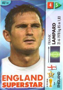 PANINI GOAAAL WORLD CUP 2006 FRANK LAMPARD ENGLAND SUPERSTAR CARD NO 68