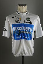Tour de France Discovery Rad Trikot Nike Gr 6 XL BW 55cm Bike cycling jersey TZ1