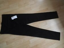 M&s Black Maternity Jeans Style SKINNY Leg Trousers Size 8 Ladies Jeggings