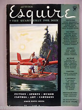 Esquire Magazine #1 - Autumn, 1933 ~~ first issue