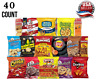 Ultimate Snack Care Package Variety Assortment of Chips Cookies, Crackers & More