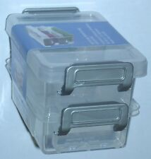 IRIS Small Plastic Storage Containers LLB-8 301634