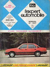 RTA revue technique automobile N° 187 OPEL ASCONA C
