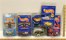 Vintage Hot Wheels Hot Rod Ford Coupe 3-Window '34 Fat Fendeered '40 Rod Run NOC