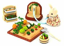 EPOCH Sylvanian Families Calico Critters Vegetable Gardening set Ka-616 New JP