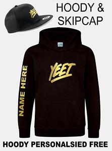 Kids YEET Lazar Beam Inspired Merch Gaming Cap &/or Hoodie &/or Bag FREE NAME