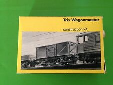 Trix Wagonmaster assembled three plnk open wagon, boxed, No.2002