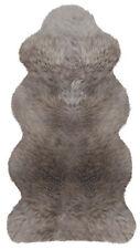 Australisches Lammfell aus 1 1/2 Fellen 140 x68 cm taupe Schaffell flauschig NEU
