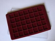 Plastic Coin Tray for 35 Coins up to 35mm Florin 10p Large 50p London P35