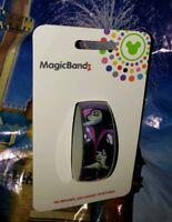 Disney MALEFICENT SLEEPING BEAUTY Purple Dragon Magic Band 2.0 Magicband Parks