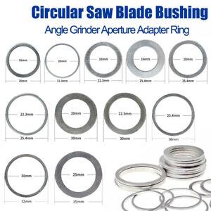 Diamond Circular Saw Blade Reduction Ring Bore Bush Washer Adapter 16-50mm Arbor