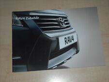 59155) Toyota RAV 4 Zubehör Prospekt 05/2010