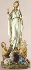 """12"""" Our Lady of Fatima Children Lamb Indoor Outdoor Statue Joseph's Studio 40722"""