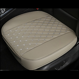 1PCS Car Deluxe Breathable Front Seat Cover PU Leather Pad Cushion Full Surround