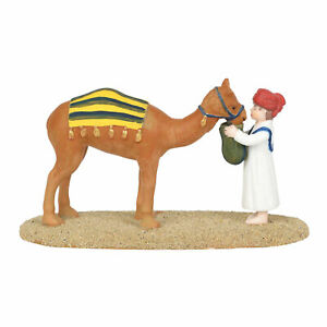 Department 56 Little Town of Bethlehem Village Accessories Tending Camel Figure