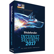 Bitdefender Internet Security 2017 (PC) - 3 Devices - 2 Years Model VB11032003-C