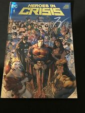Heroes In Crisis #1 Gold Foil Variant signed by Tom King.
