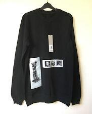 100% Authentic Rick Owens DRKSHDW patch Oversized sweatshirt sweater - S
