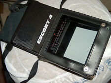 Magnavox Escort 4 Bf3904Bk01 Portable Tv With Carrying Case Tested Working 100%
