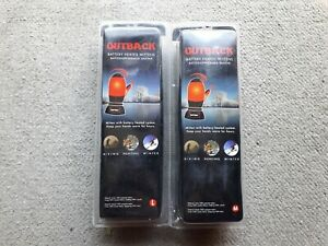 Battery Heated Men's Black Mittens Outback Two Pairs M & L New