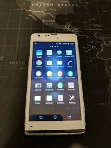 Sony Xperia SP (C5303) White O2 Network Smartphone