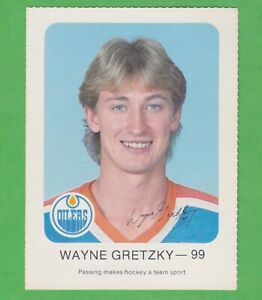 1982-83 Edmonton Oilers Red Rooster #99 Wayne Gretzky