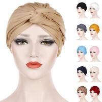 Women Chemo Cap Muslim Turban Head Wrap Hijab Bonnet Head Scarf Cover Hair Loss