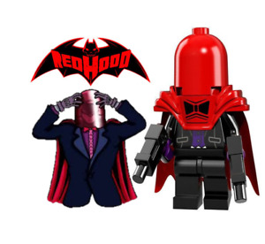 RED HOOD 1 DC COMICS MINIFIGURE FIGURE USA SELLER NEW IN PACKAGE