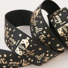 Gin-Gle All The Way - 25mm Black & Gold