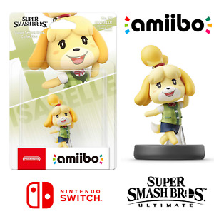 Isabelle Amiibo No 73 Character For Nintendo Switch Super Smash Bros Ultimate