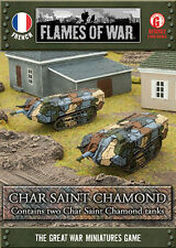 Flames of War - French: Char Saint Chamond GFBX02