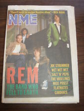 NME 1988 APRIL 2 REM JOE STRUMMER WET WET WET MAXI PRIEST CARDIACS