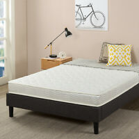 Green Tea Infused Extra Durable Hybrid Spring Mattress Queen Twin Full King Dorm
