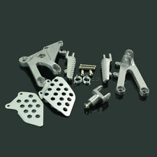 Front Rider Foot Pegs Rest Footrest Bracket Set For HONDA CBR600RR 2003-2006