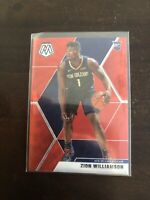 Panini Basketball Zion Williamson Red Wave Mosaic,Ja Morant * Repack Lots - READ