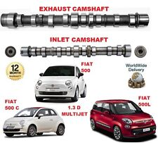 FOR FIAT 500 + C + L 1.3 D MULTIJET 2007->ON NEW ENGINE INLET & EXHAUST CAMSHAFT