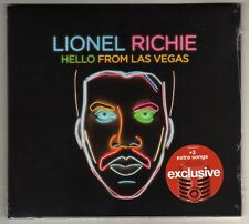 LIONEL RICHIE: HELLO FROM LAS VEGAS CD TARGET VERSION BRAND NEW LIVE RECORDING