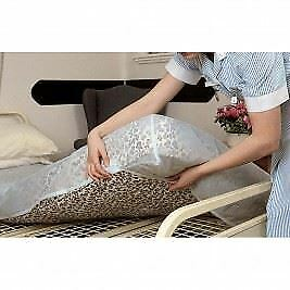 Heavy Duty Double Bed PVC Plastic Waterproof Fitted Mattress Protector Cover